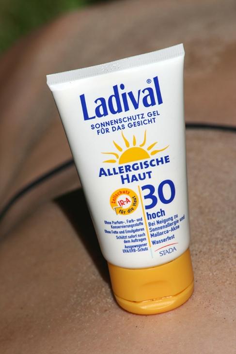 Ladival Sonnenschutz Gel allergische Haut Test